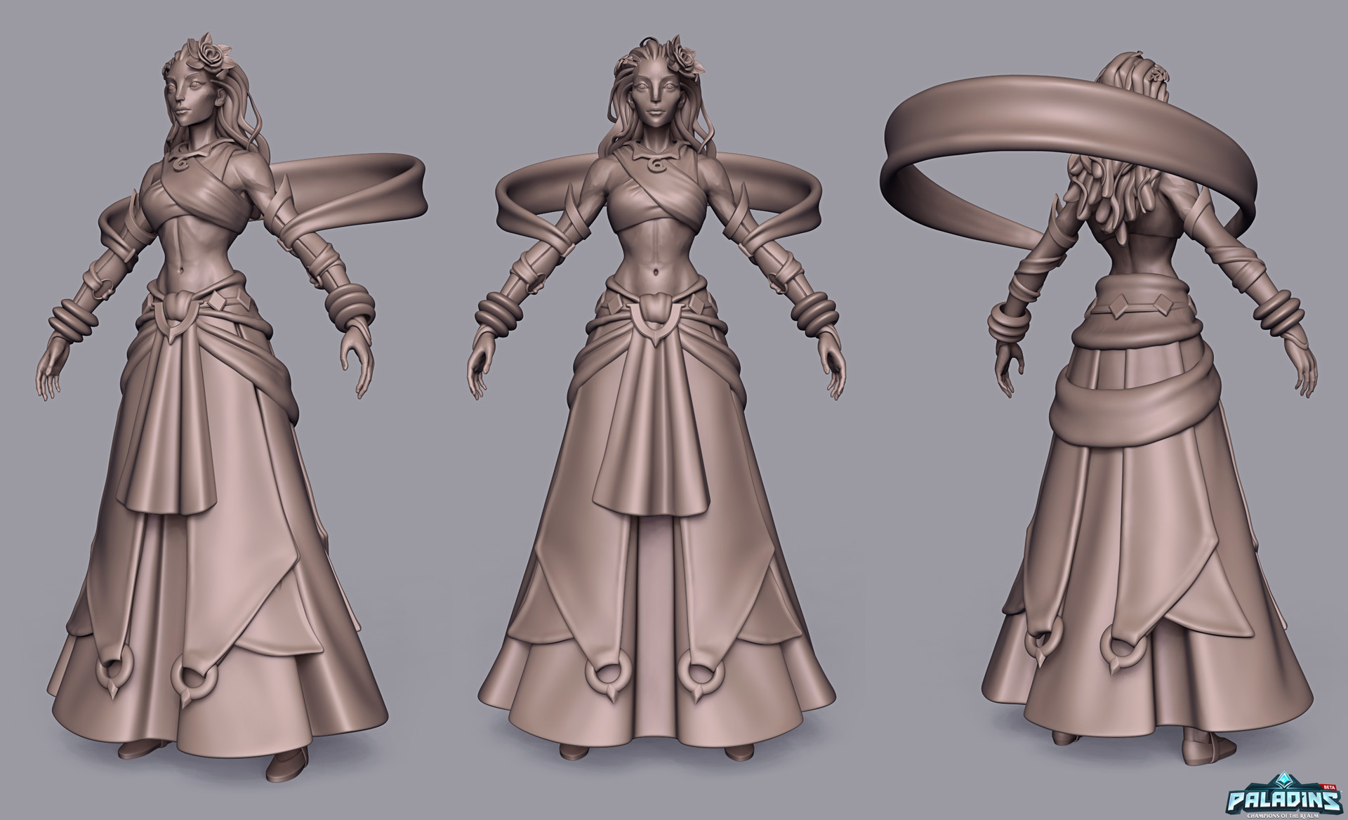 Weston reid inara highpoly 01