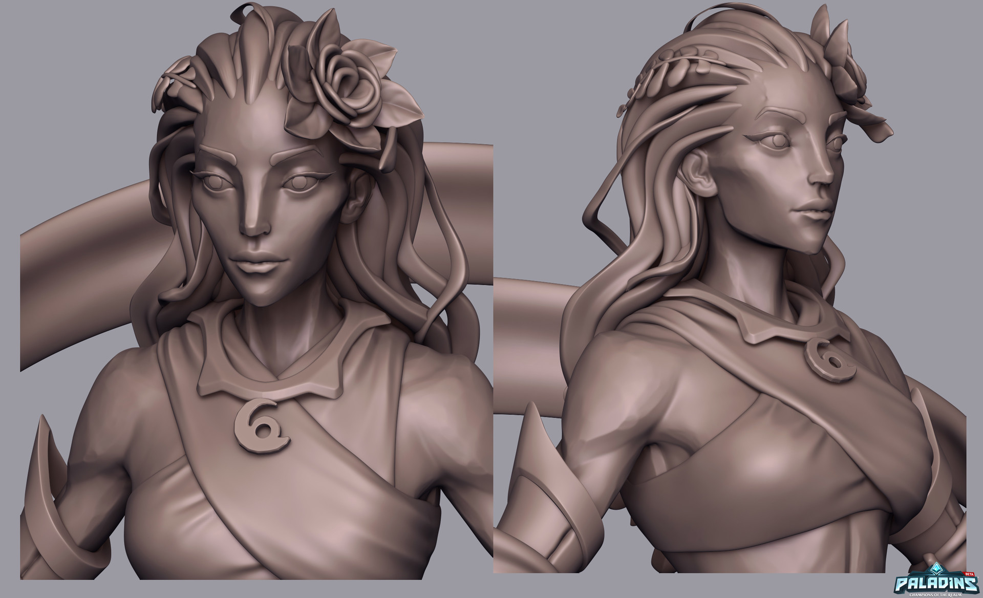 Weston reid inara highpoly 03
