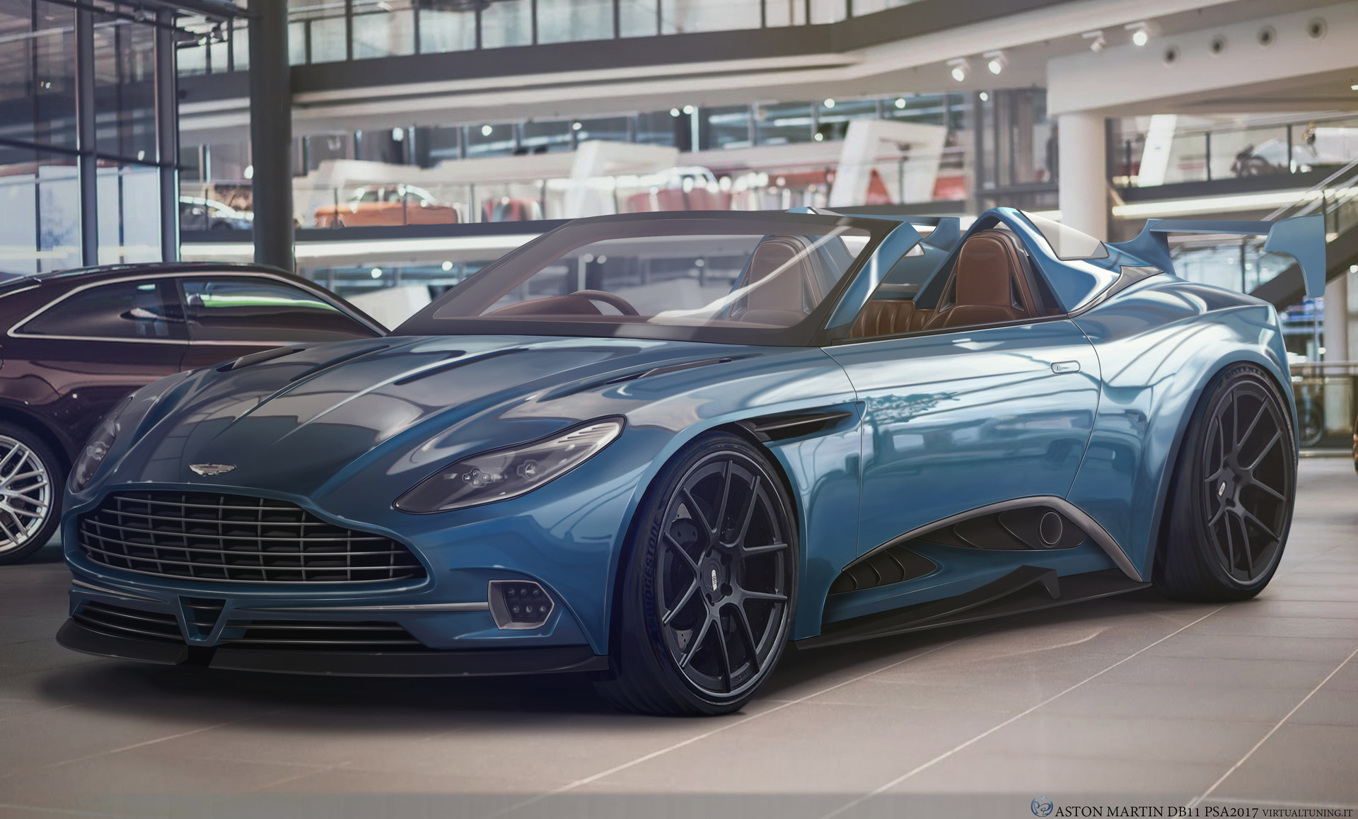 artstation aston martin db11 cabrio psa rt. Black Bedroom Furniture Sets. Home Design Ideas