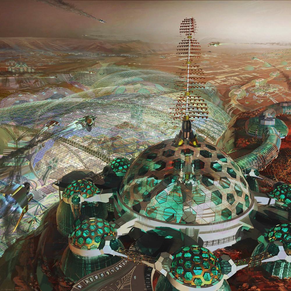 Netrunner Mars Bases