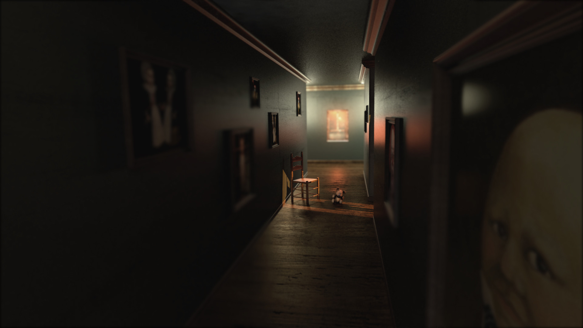 horror lighting. Final Render - Changed The Camera Angle For A More Dramatic View Horror Lighting