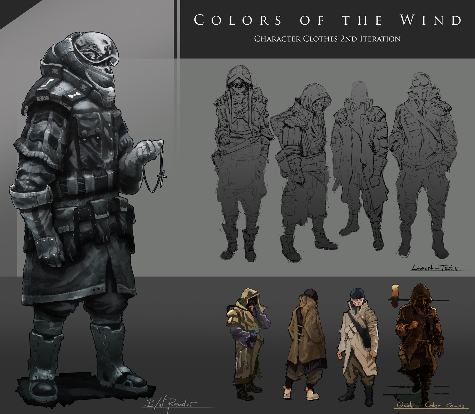 Colors of the Wind: 2nd Clothing Iteration