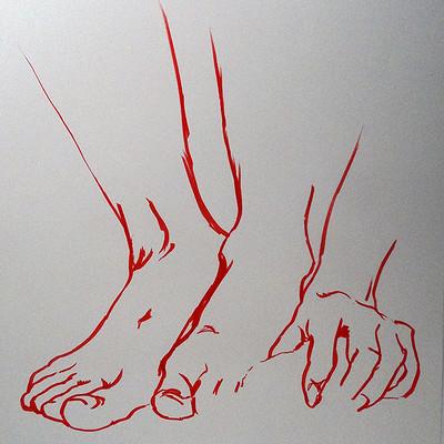 Volodia chamard etude de pieds