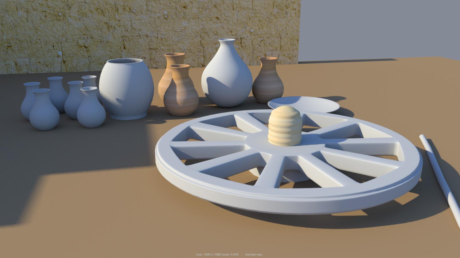 Rajesh sawant potters wheel 2