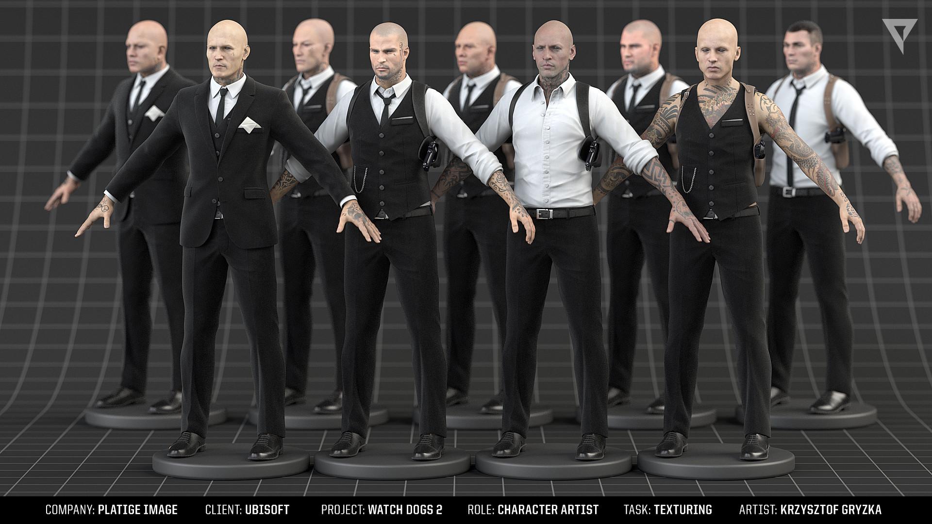 Krzysztof gryzka wd2 syndicate texturing2