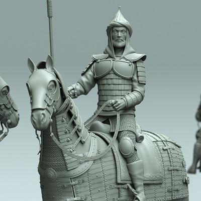 Krzysztof gryzka monument of horse 01