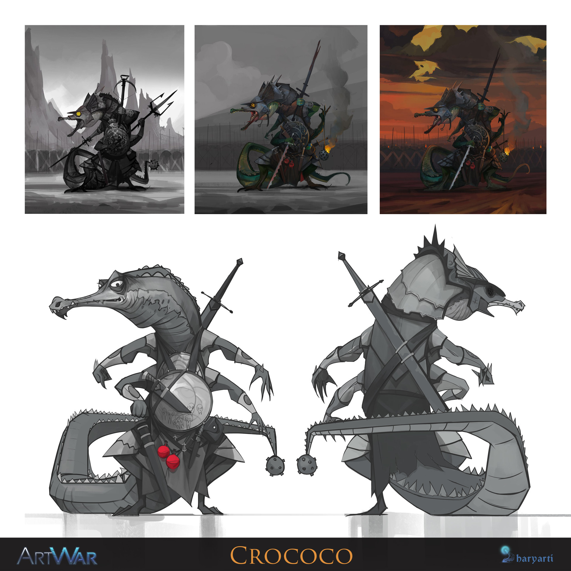 Igor artyomenko concept sheet croc final
