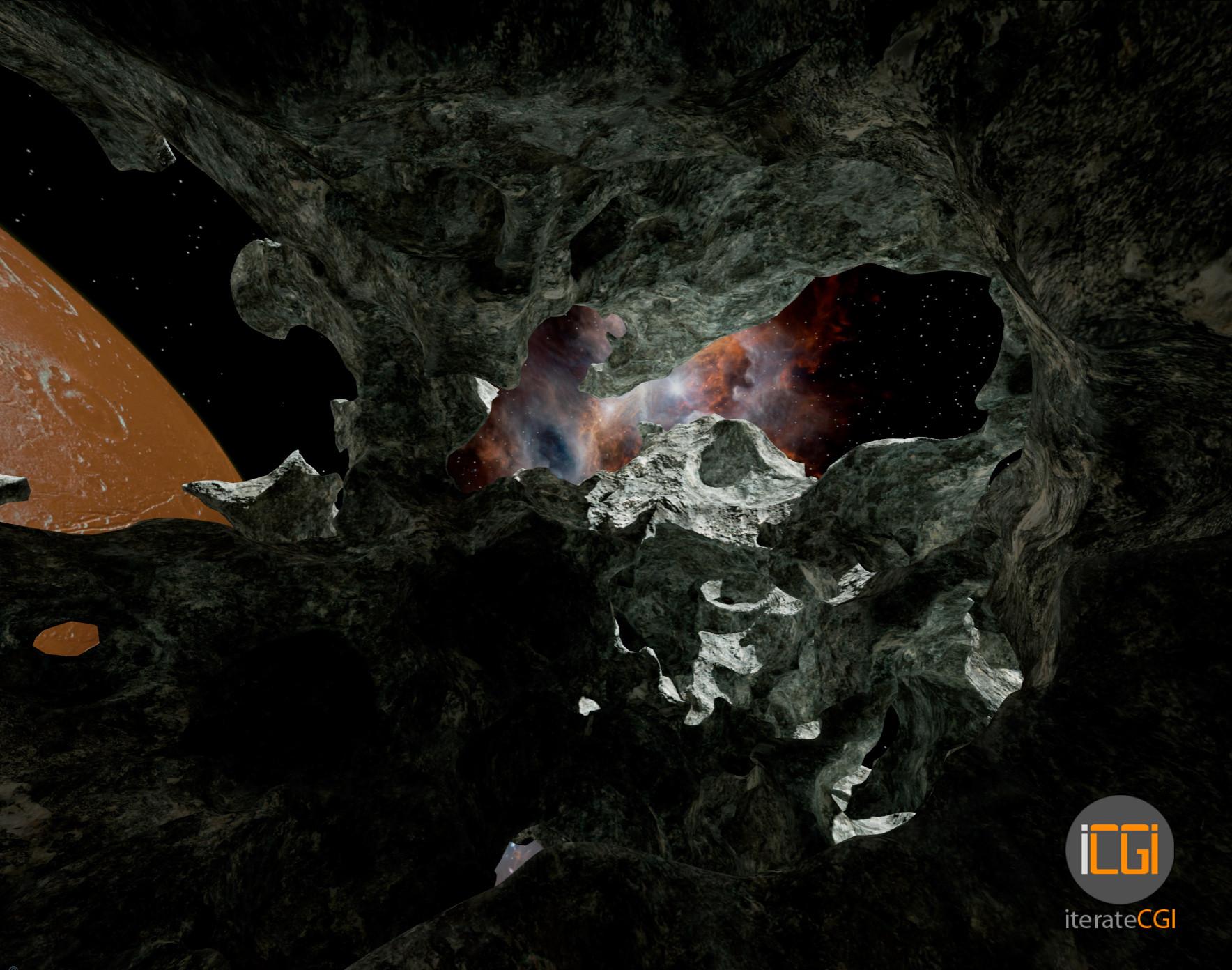 Johan de leenheer 3d asteroid game model 5