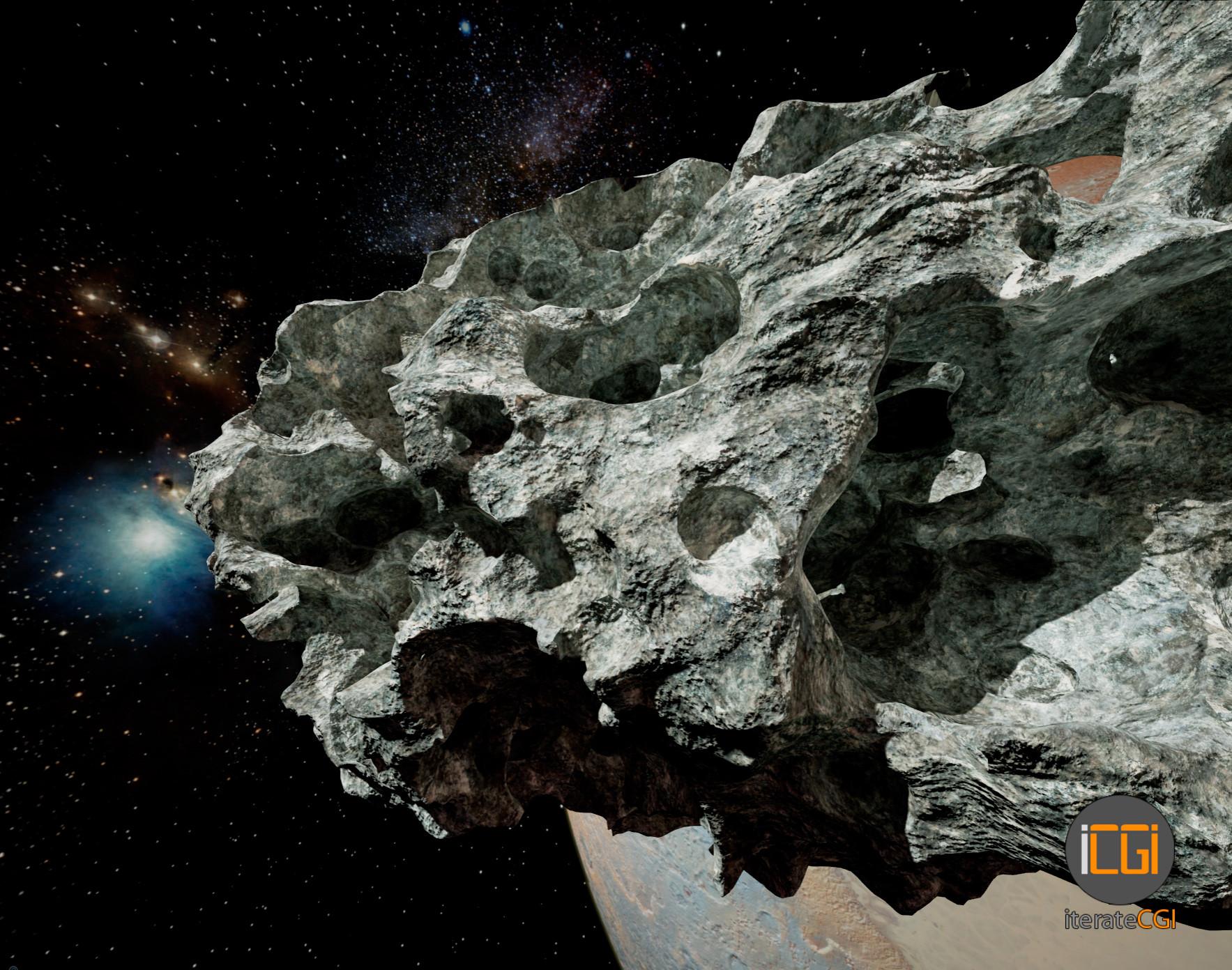 Johan de leenheer 3d asteroid game model 6