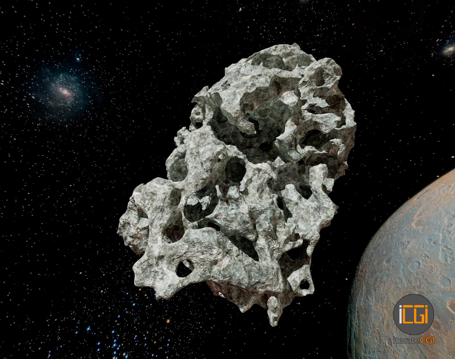 Johan de leenheer 3d asteroid game model 8
