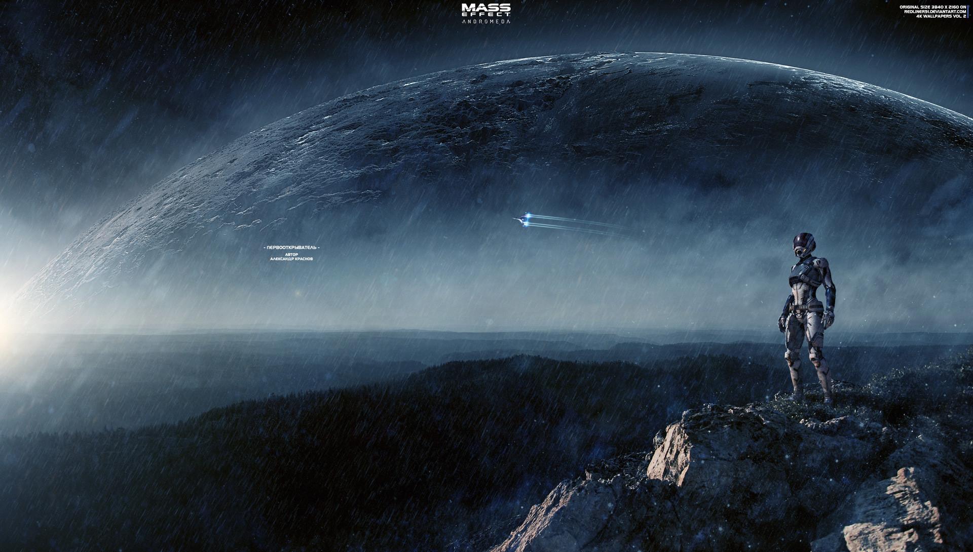 Artstation Discoverer Mass Effect Andromeda 4k Alexander Manakhov