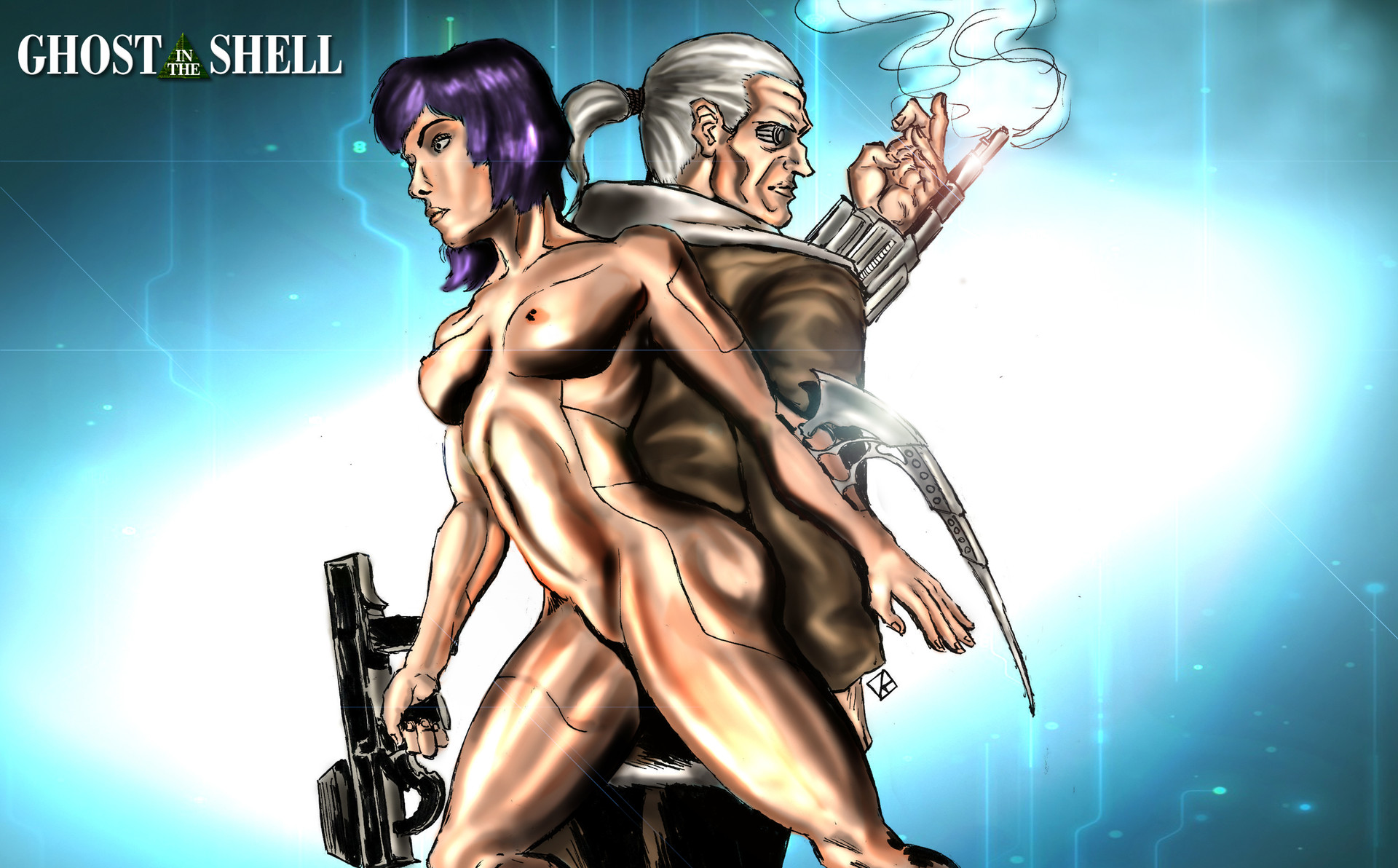 ghost of the shell