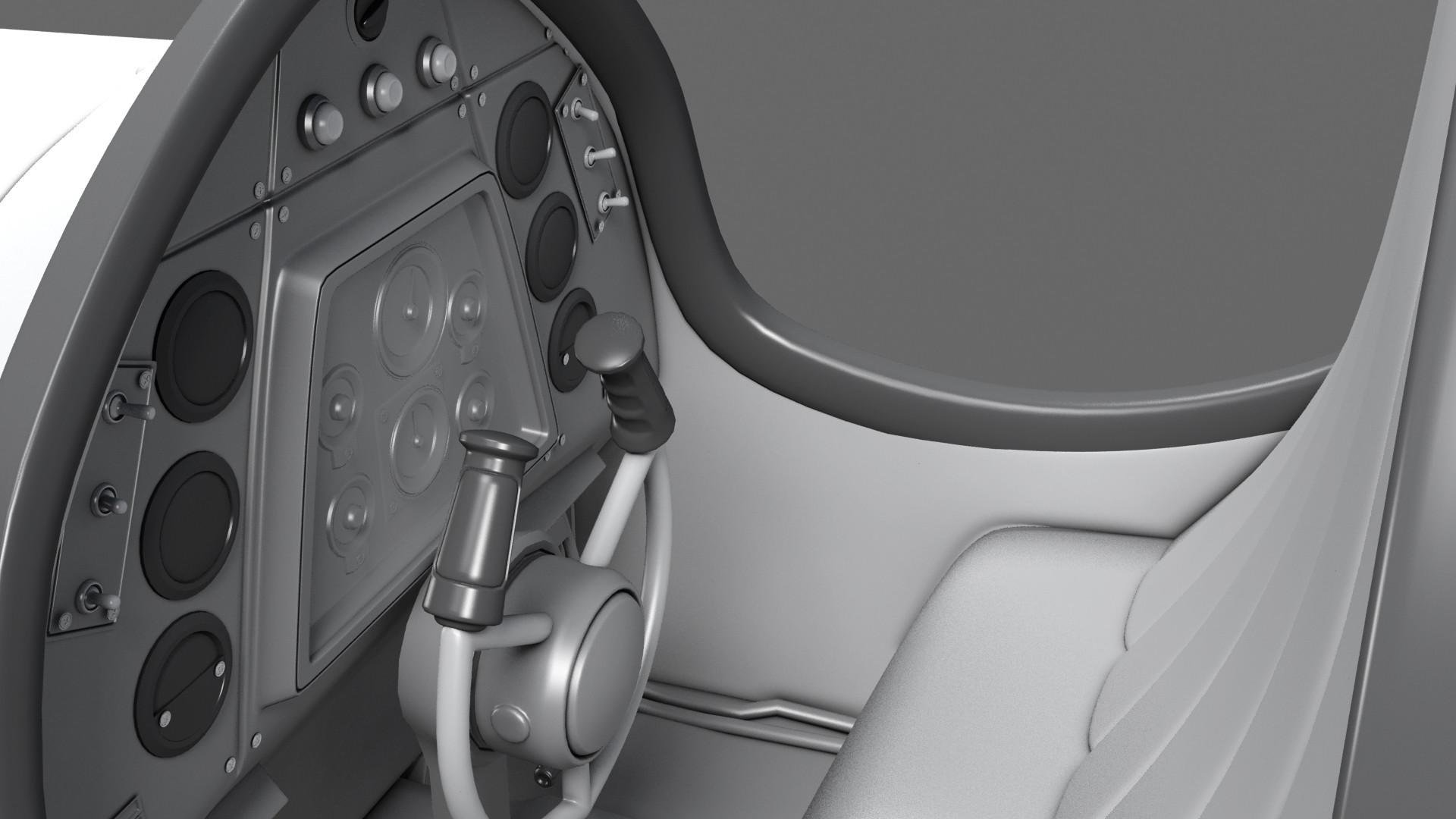 Highpoly Close up Cockpit