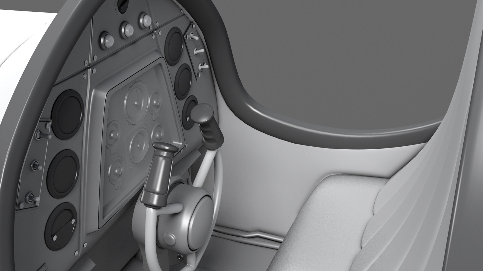Highpoly Close up Cockpit
