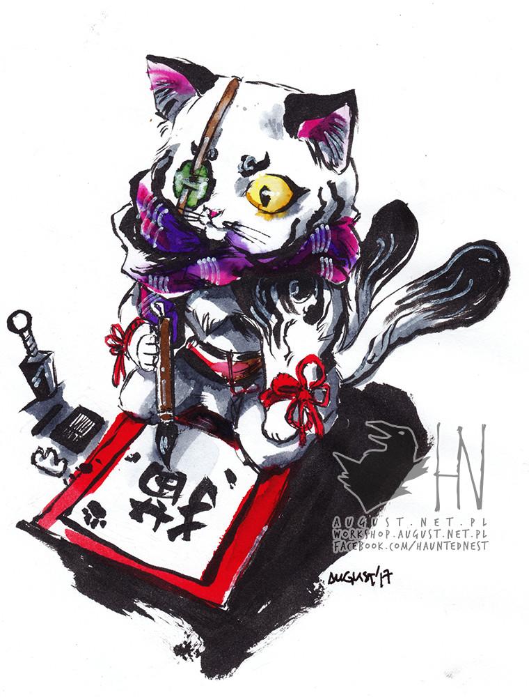Nekomata // 猫又