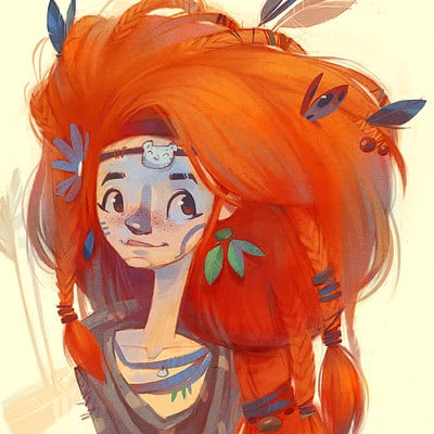 Tipa  graphic aloy fan art