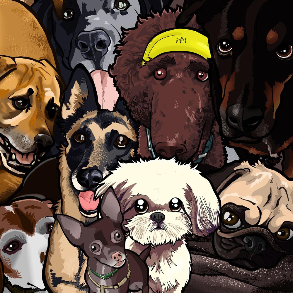 Steve rampton dog doodles