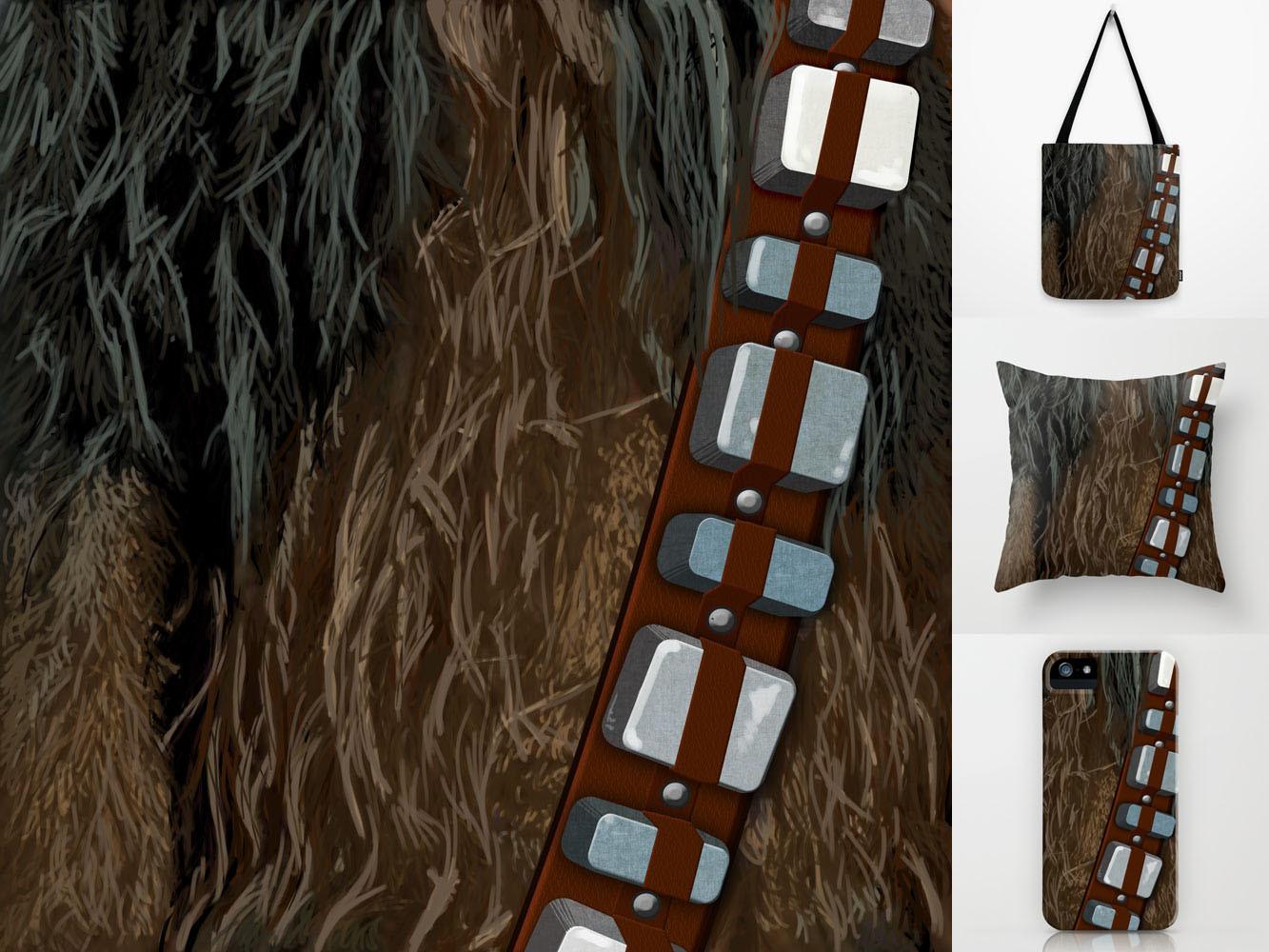 Steve rampton chewbacca