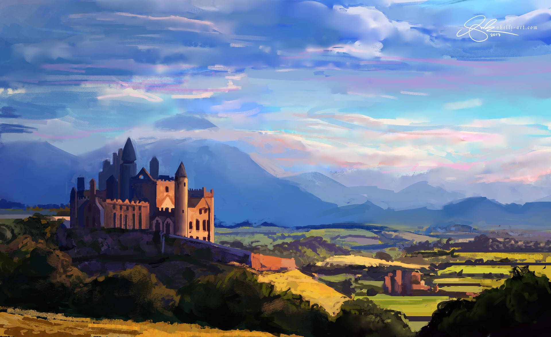 Shellz art castle 5