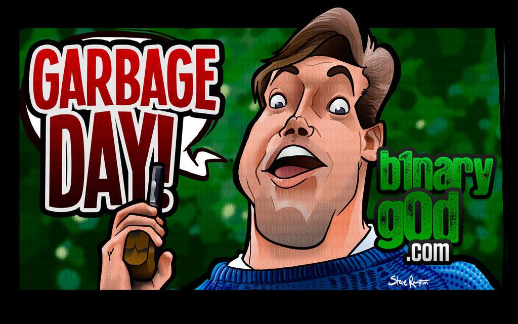 Steve rampton garbage day watermark