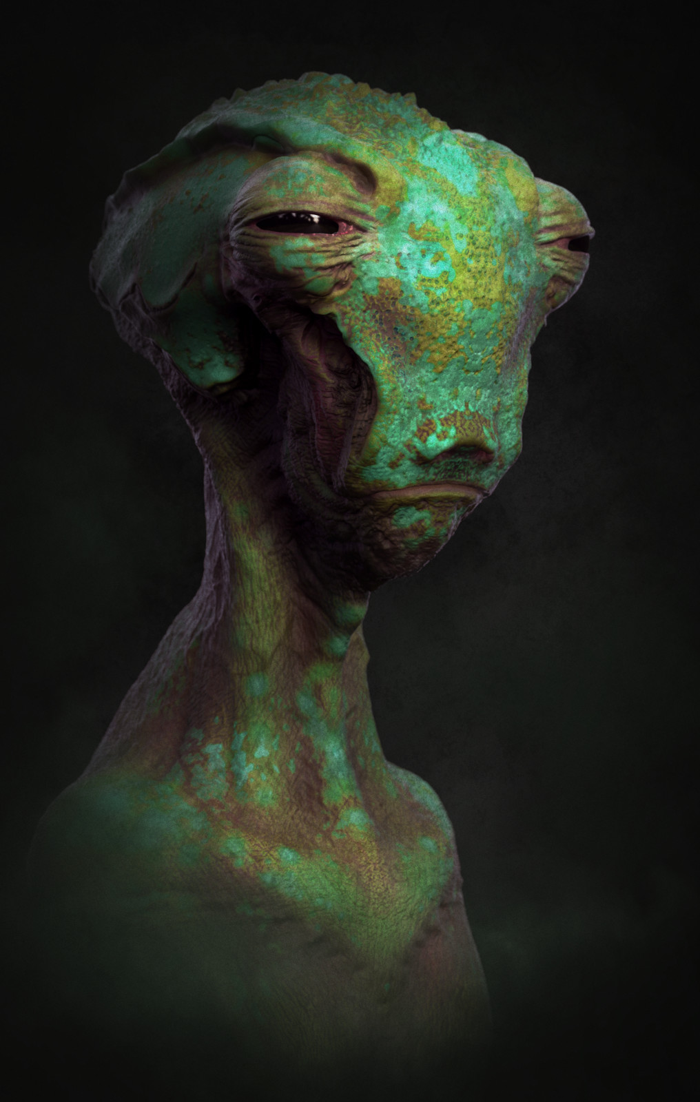 Alien bust 3