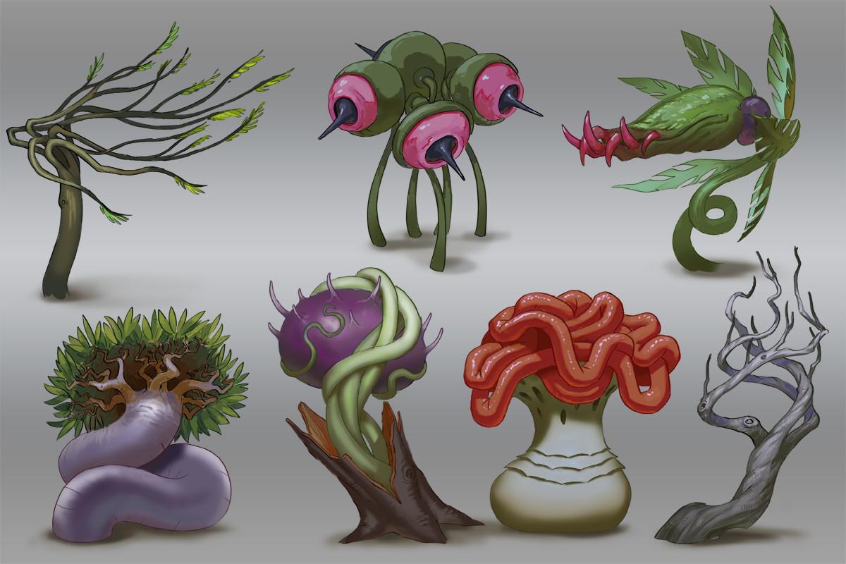 Weird Plant Concepts