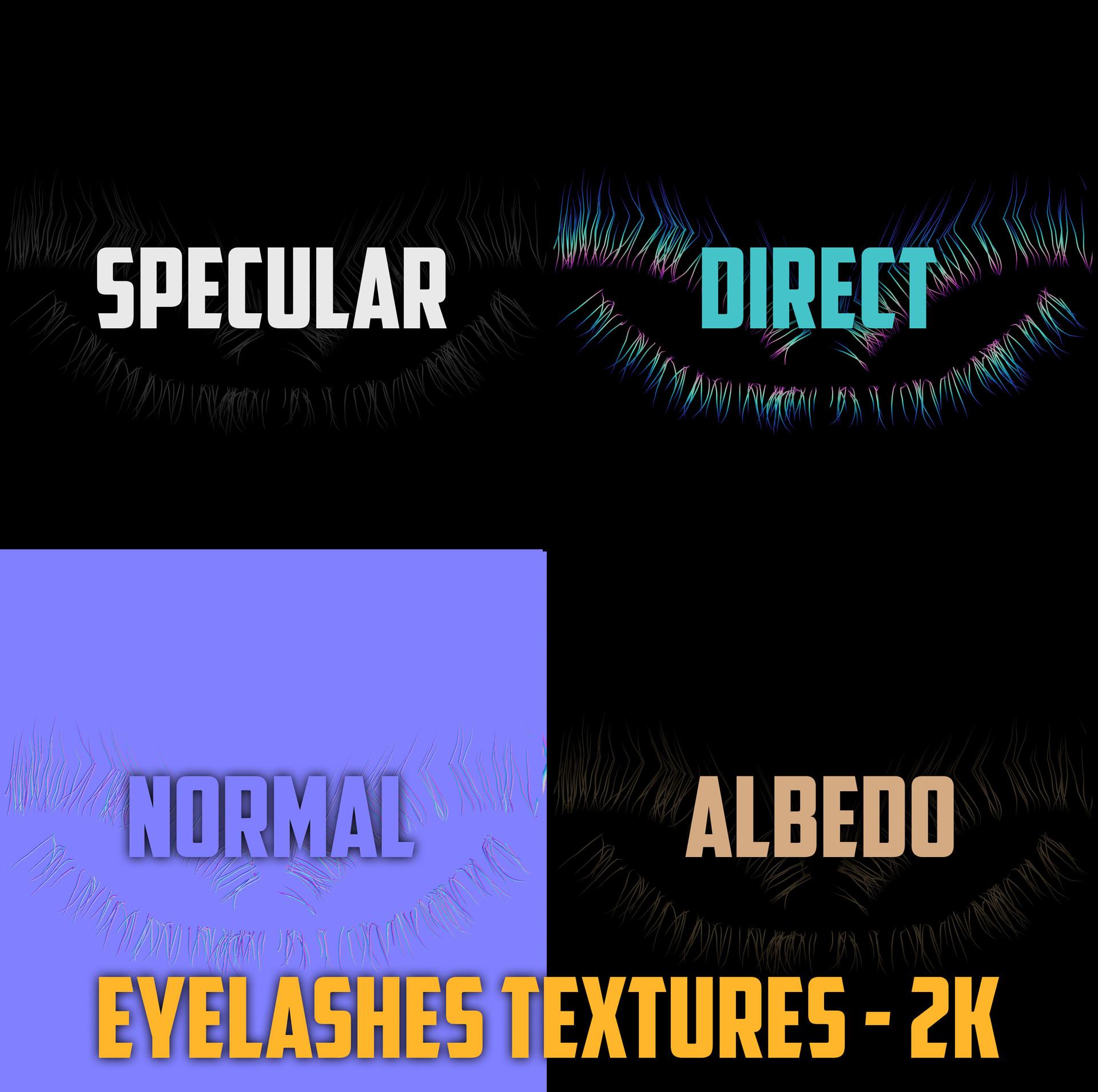 Andrew krivulya eyelashes