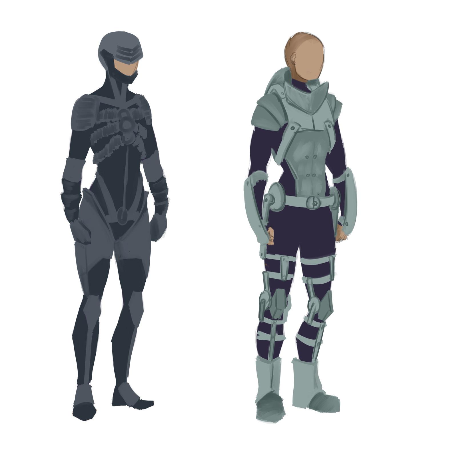 Xono - Concept Sketches Pt.1