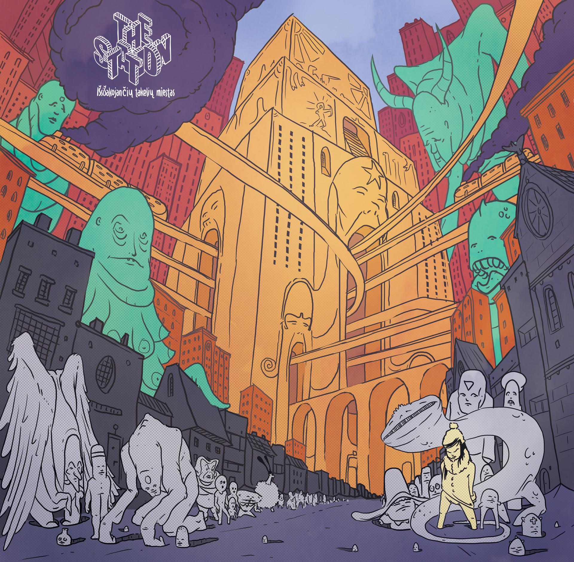 Gediminas skyrius vinyl cover front copy