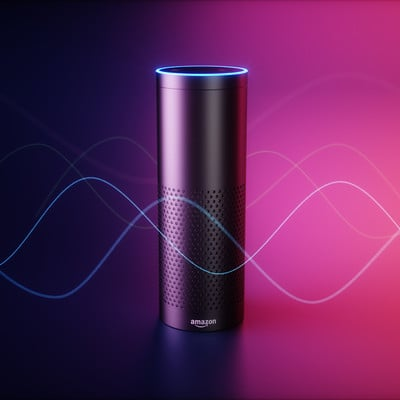 RENDER PROJECT OF AMAZON ECHO