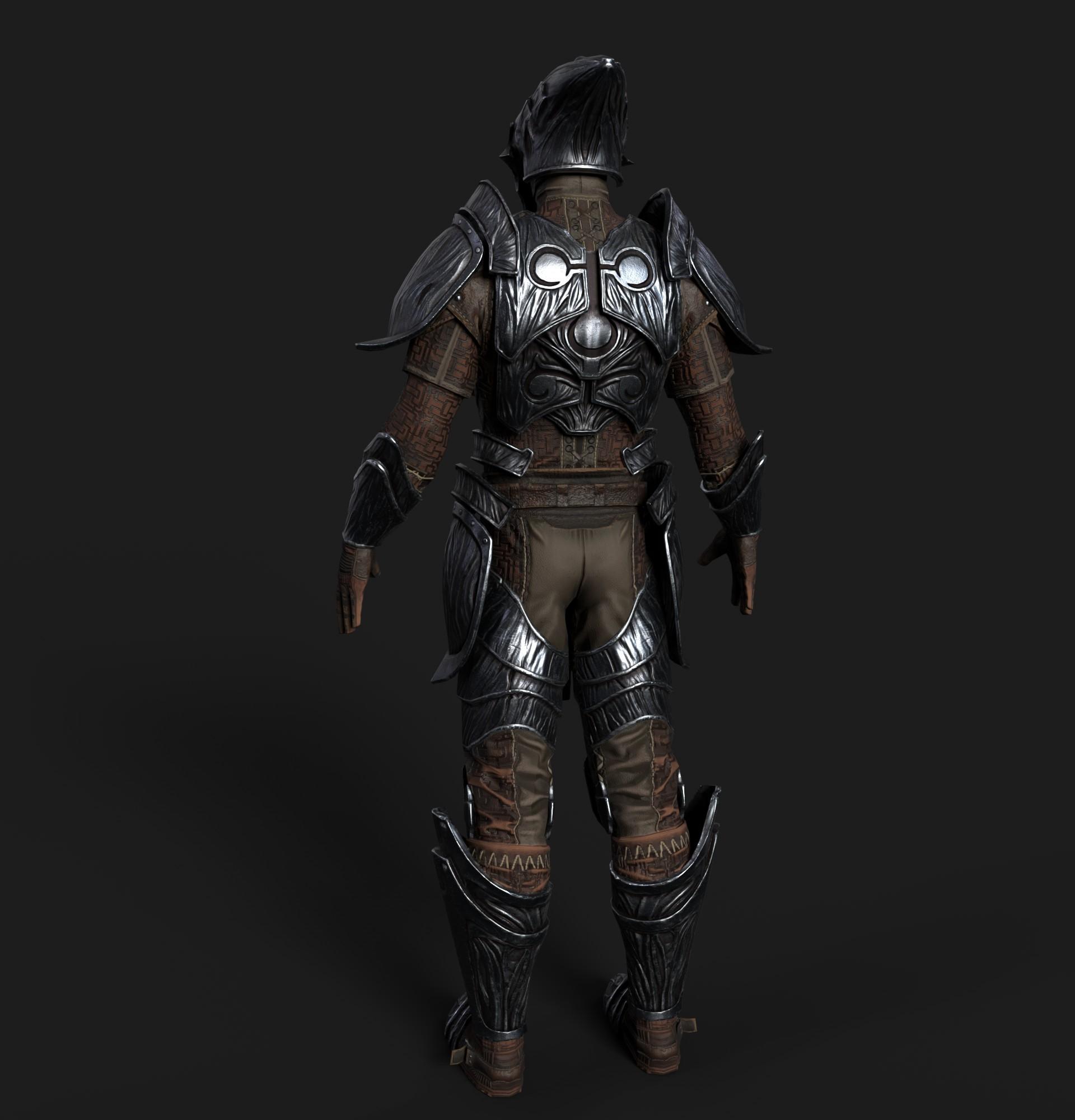 Ricardo graham hlaalu medium armor realtime 02