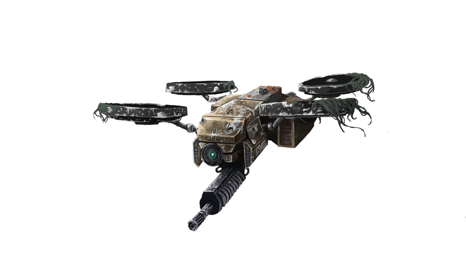 Old Military  Drone