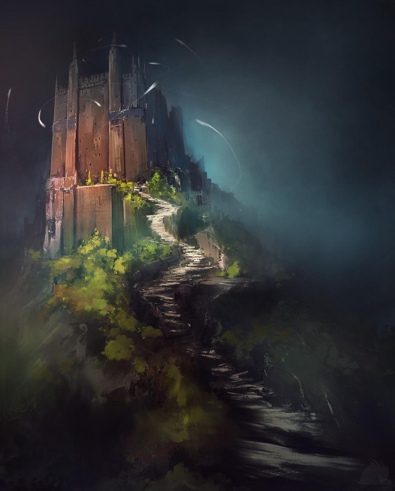Castle on rock