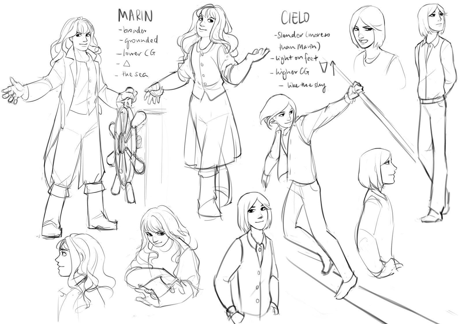 Character sheet (their designs have changed slightly ever since).