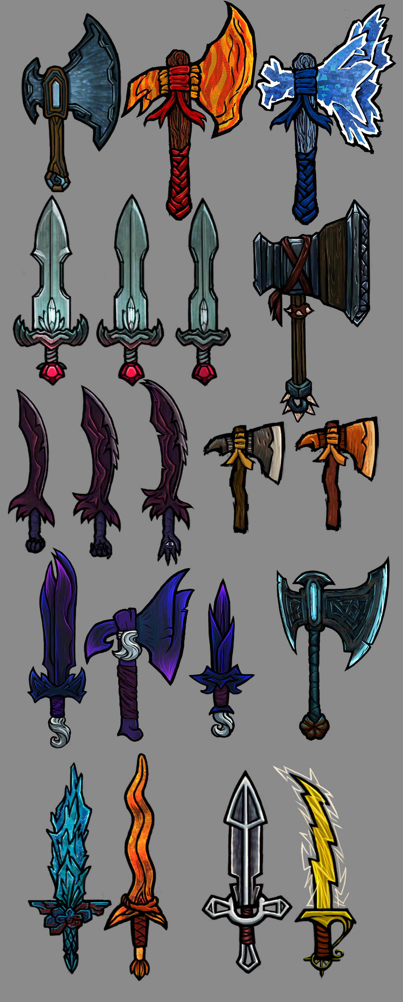 Vivien lulkowski weapons of hero