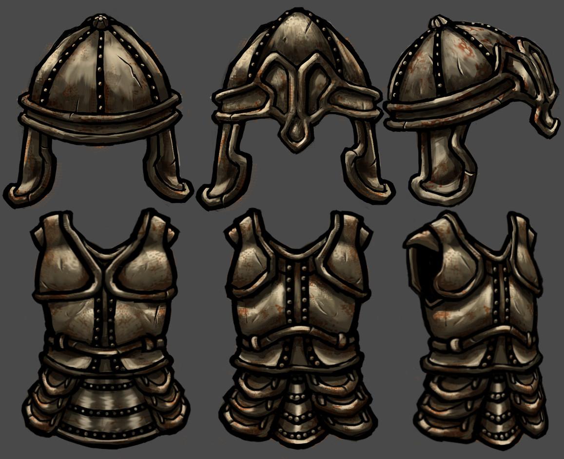 Vivien lulkowski iron armor set