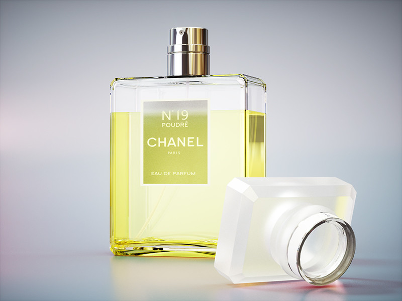 Perfume Product Shot R&D 2nd render