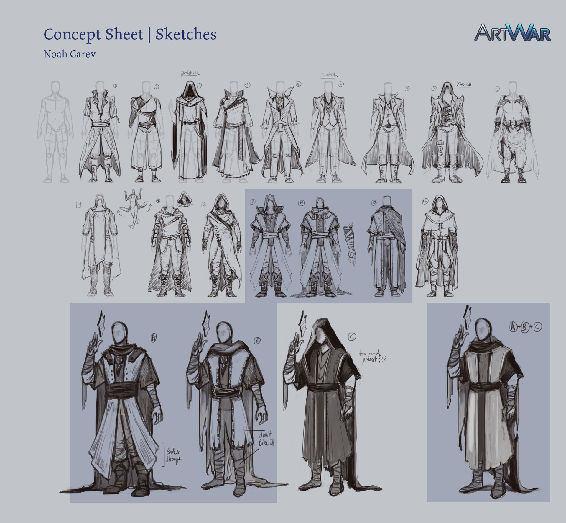 Noah carev artwar sketches frankenstejin noahcarev1