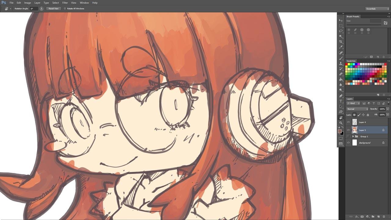 ArtStation - 443 - Futaba Sakura, Jr Pencil