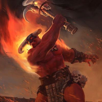 Ancient war god (ARTWAR)