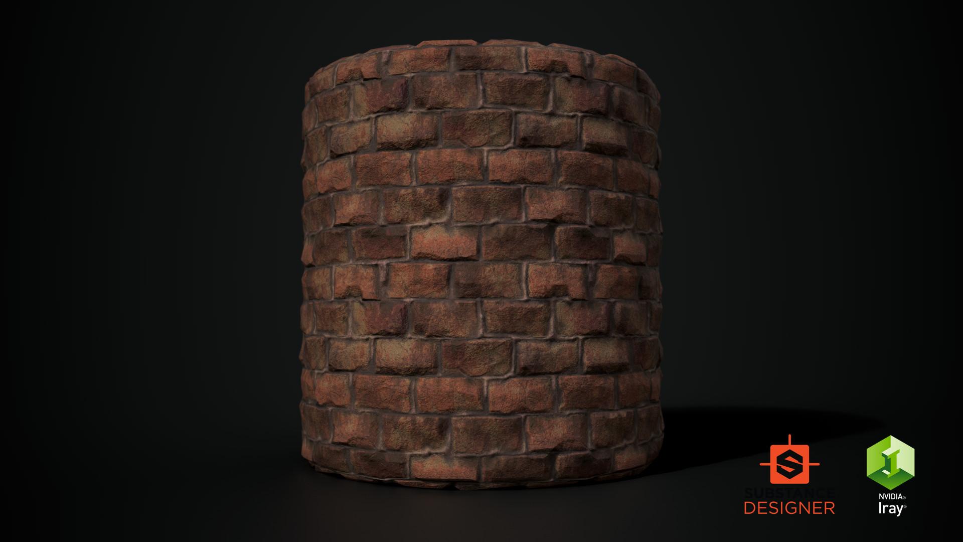 Gokhan galex ilhan brick cylinder 01