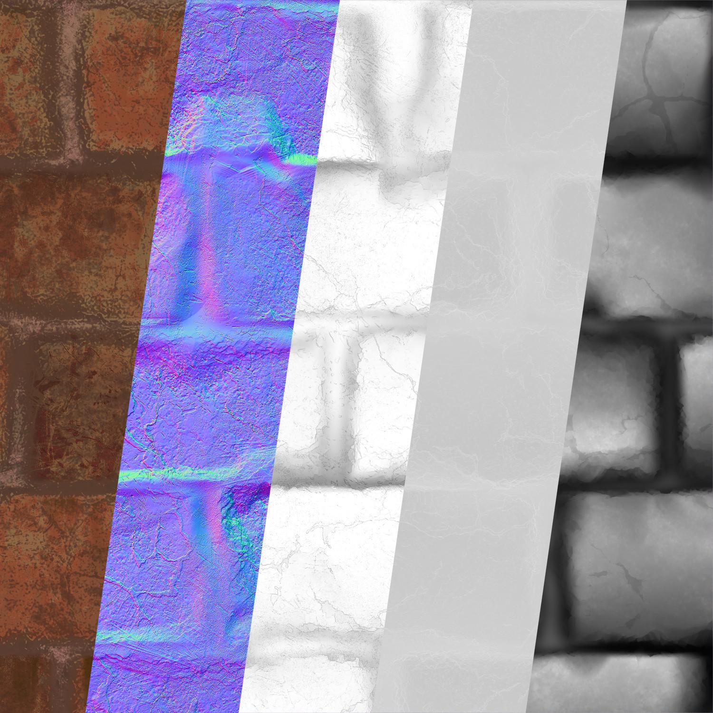Gokhan galex ilhan brick textures
