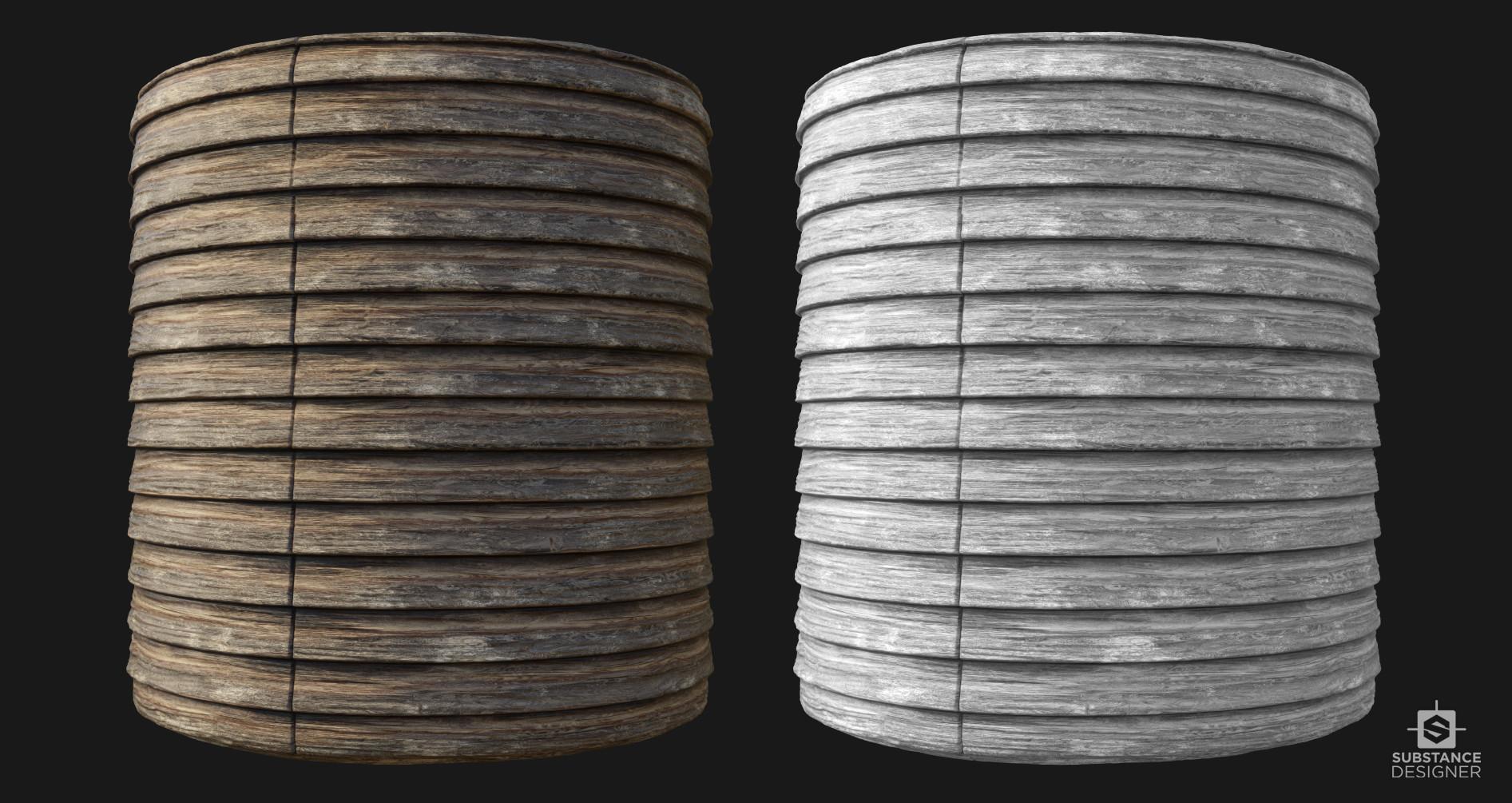 Victor santos woodenplanks cylinder