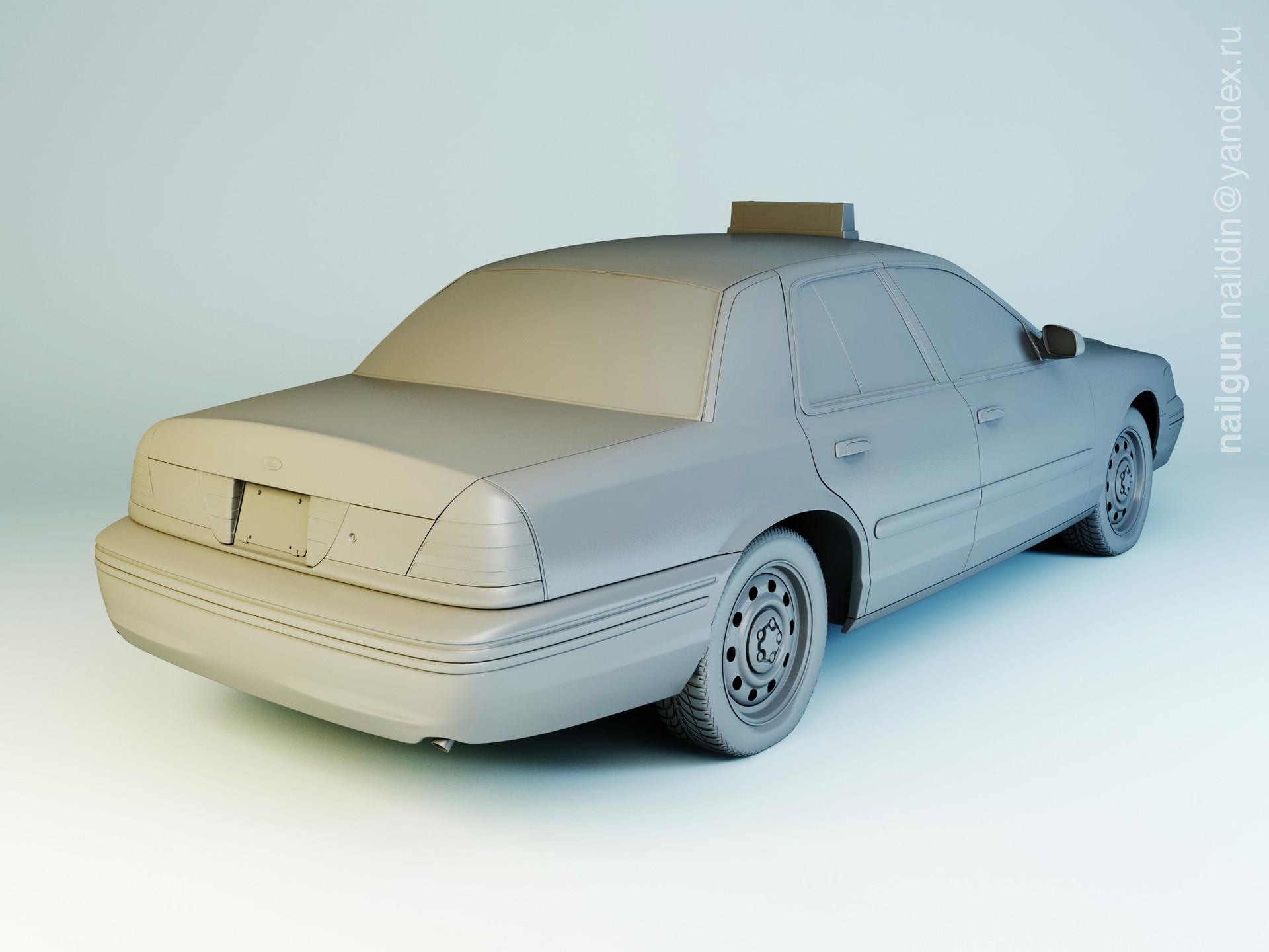 Nail khusnutdinov 003 ford cv modelling 1