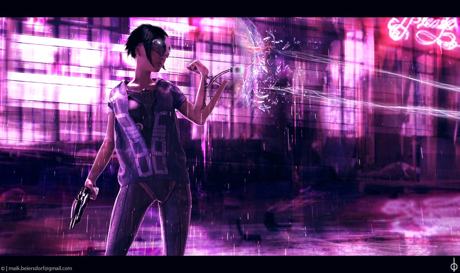Cyborg Girl 02