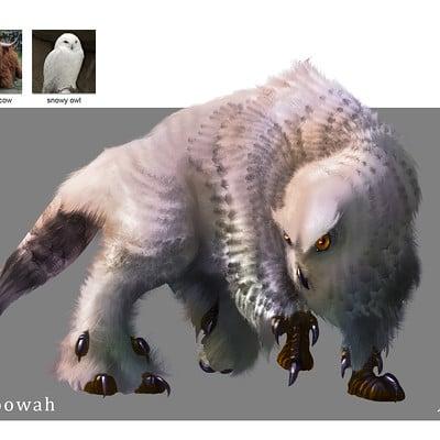 Midhat kapetanovic random creature mashup 031 moowah