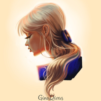 Gina rivas boceto face