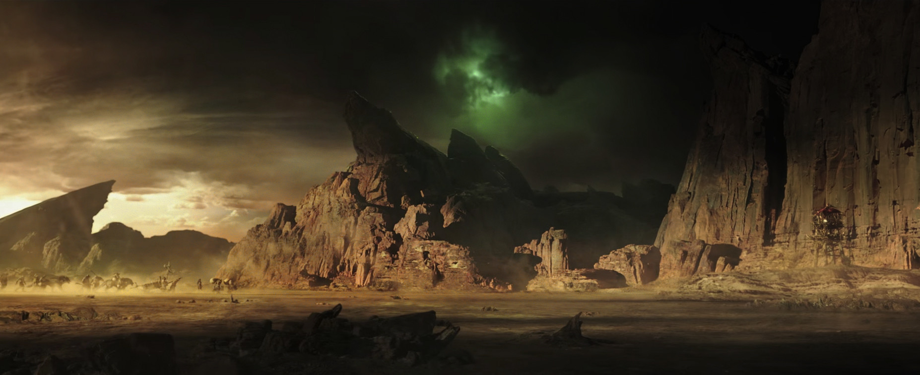 About >> ArtStation - Draenor Matte Painting for Warcraft Film , Cody Gramstad