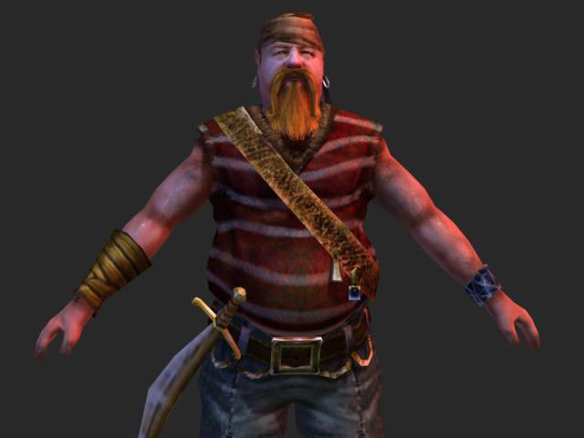 Dan burke piratesword big front close