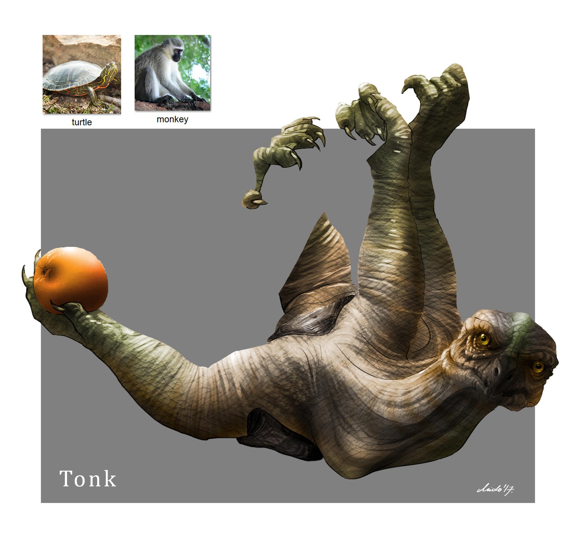 Midhat kapetanovic random creature mashup 032 tonk